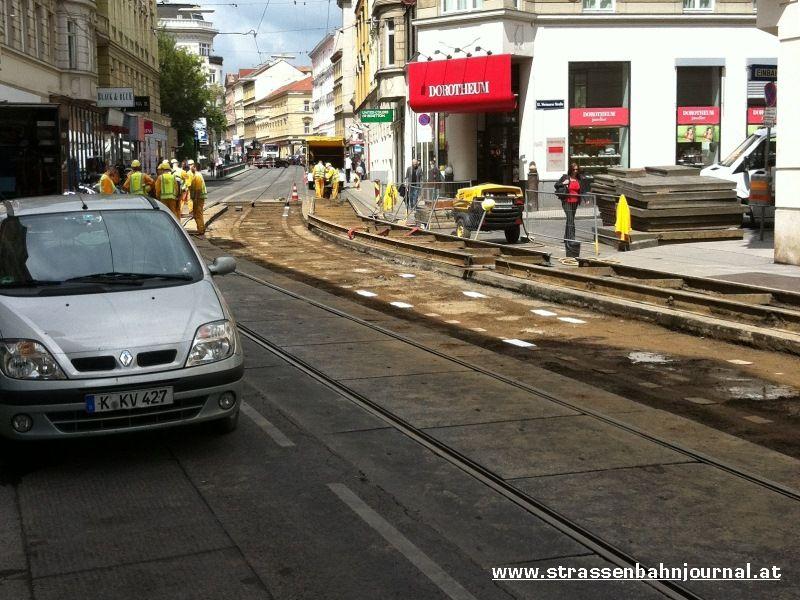 Gleisbruch Währinger Straße