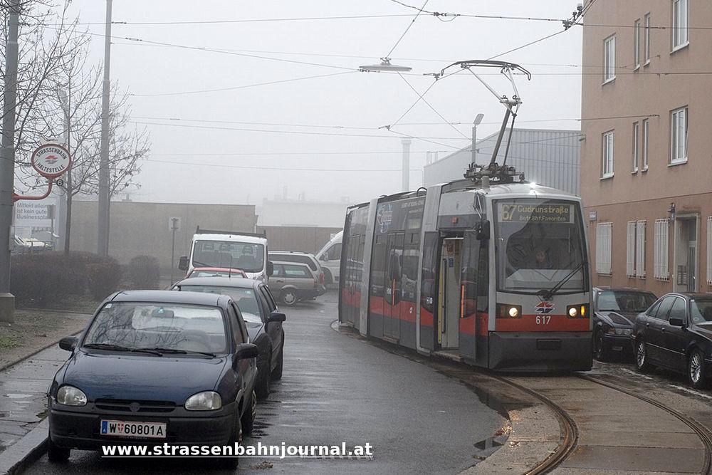 617, Linie 67, Gräßlplatz