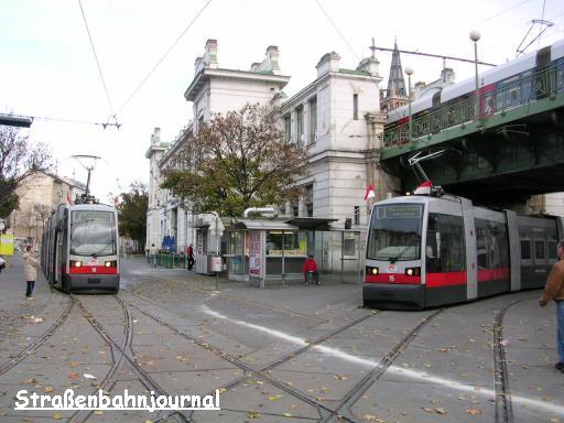 15, 16 Josefstädter Straße U