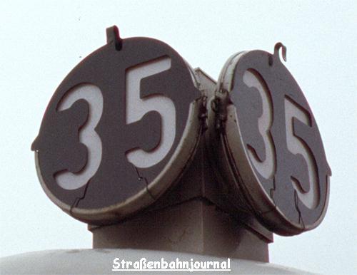 Dachsignal 35