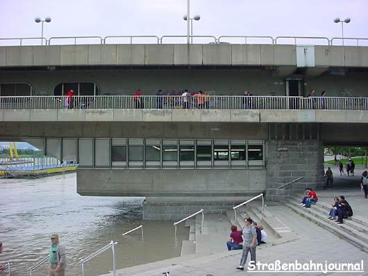 Hochwasser Donauinsel