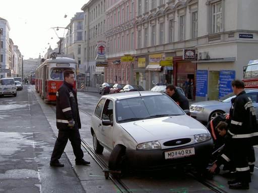 Unfall Märzstraße/Tannengasse