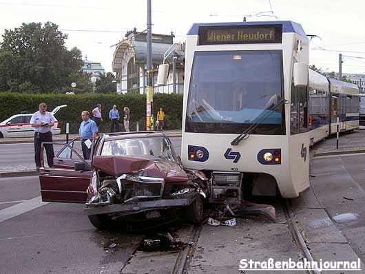 Verkehrsunfall WLB