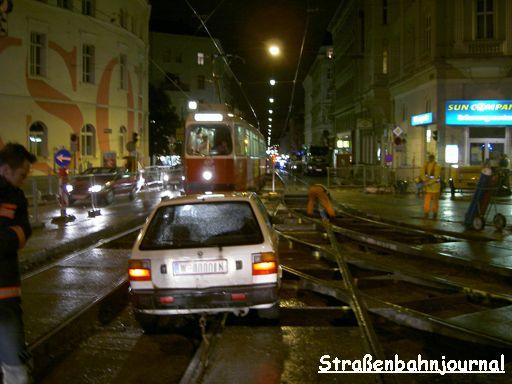 Verkehrsunfall Volksoper