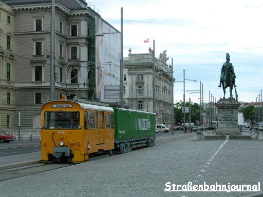 Güterbim Schwarzenbergplatz