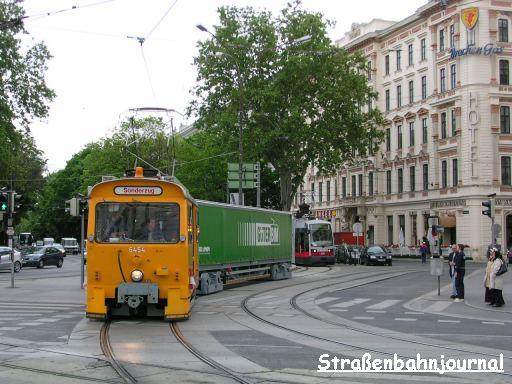 Güterbim Schwarzenbergplatz/Schubertring