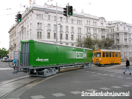 Güterbim Schwarzenbergplatz/Lothringerstraße