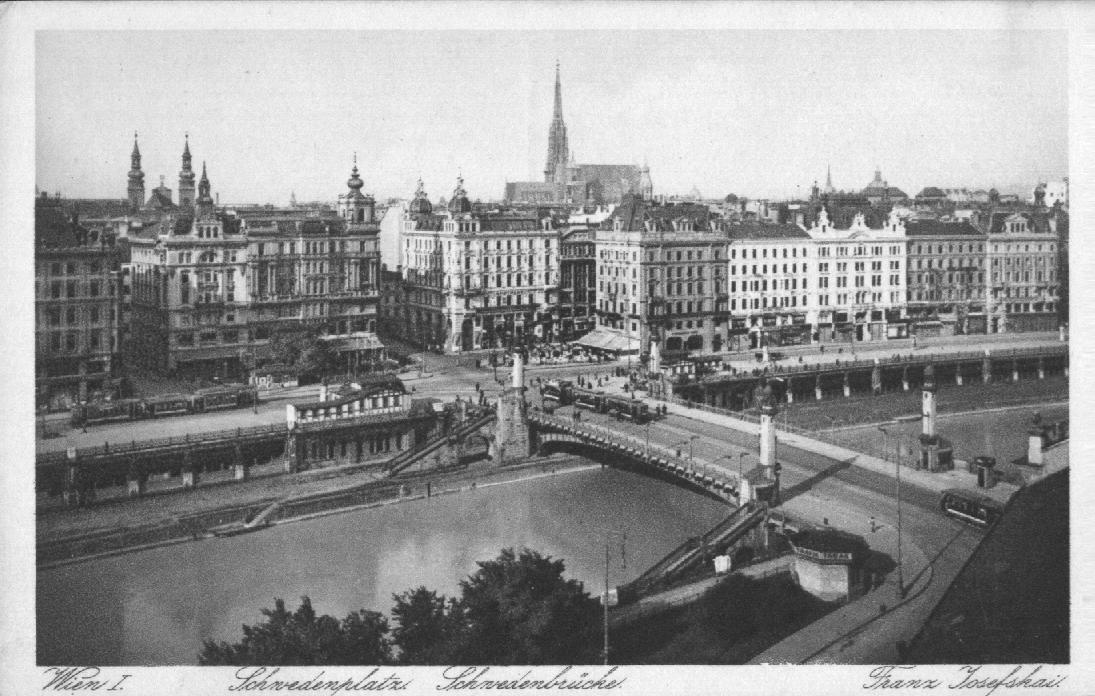 Schwedenplatz anno 1928