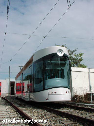 Neue Straßenbahn für Marseille