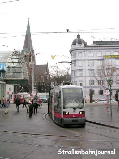 22 Westbahnhof