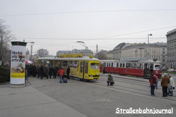 Vienna Ring Tram Karlsplatz
